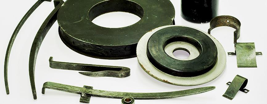 izdelki v kombinaciji z gumo in plastiko front